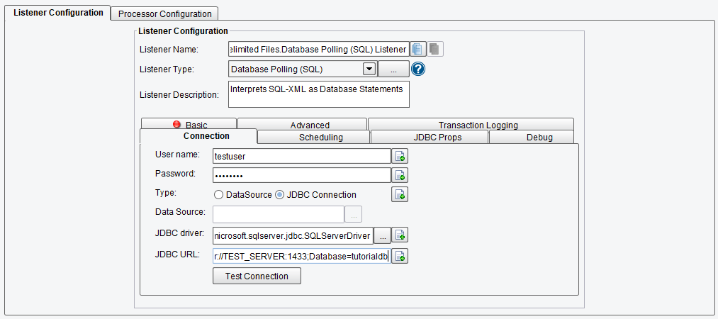 End-to-End tutorial: From MS SQL Server to XML and delimited file