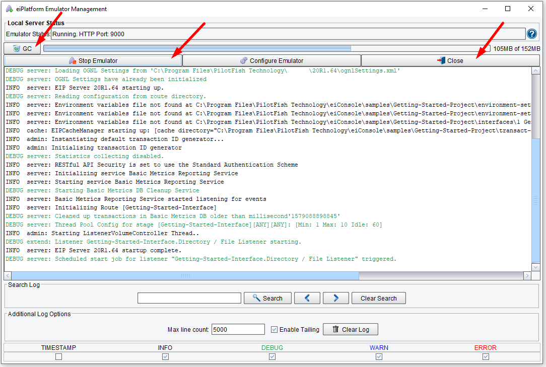 Route Testing & Validation Tutorial - View Data Log